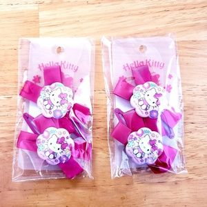 HELLO KITTY ♡ Hair Clips